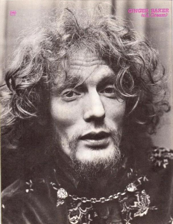 Ginger Baker Latest Wallpaper