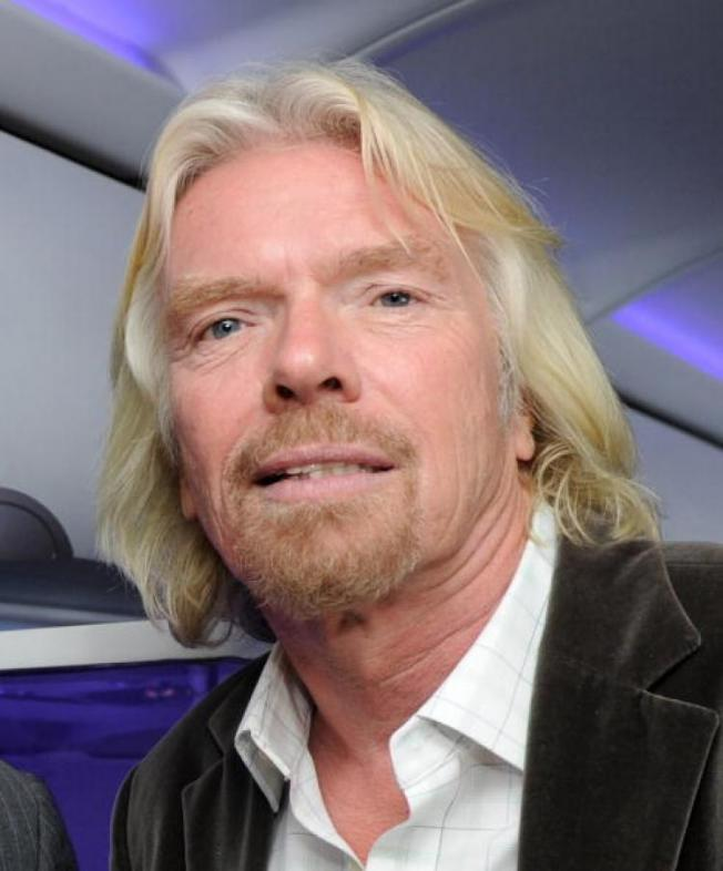 Richard Branson Latest Photo