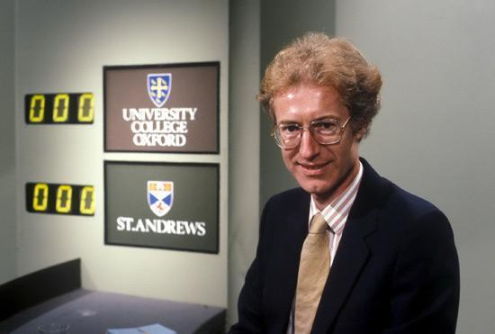 Bamber Gascoigne Latest Photo