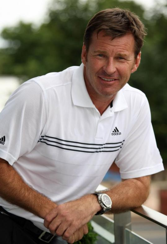 Nick Faldo Latest Photo