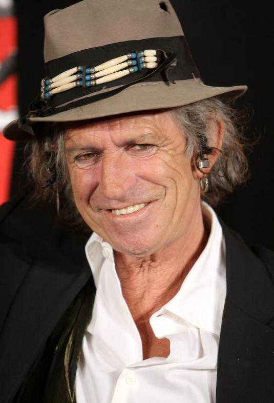 Keith Richards Latest Photo