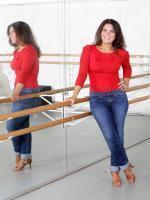 Susanna Reid in Red Shirt