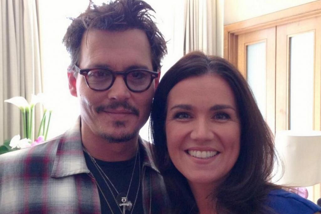 Susanna Reid With Jhony