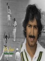 Khan Mohammad member of Pakistan's first Test team that played against India