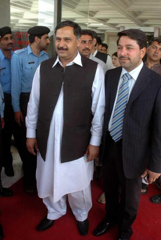 Malik Ibrar Ahmed with party leaders