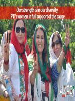 PTI Women Wing in AZADI MARCH
