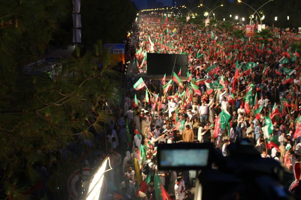 11 May Jalsa in D-Chok Islamabad Photos