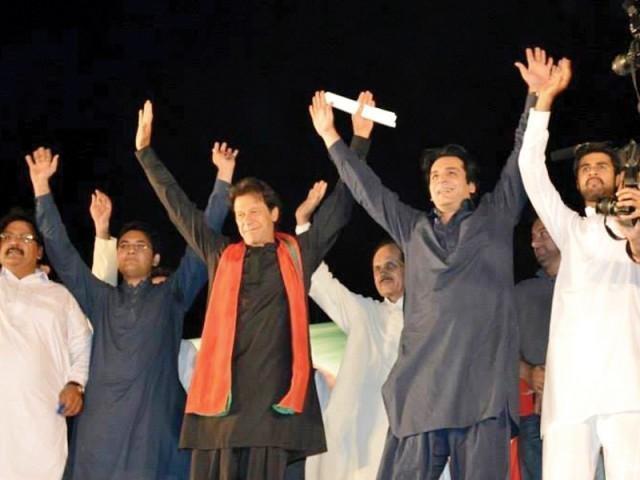 Anti rigging rally in Sialkot