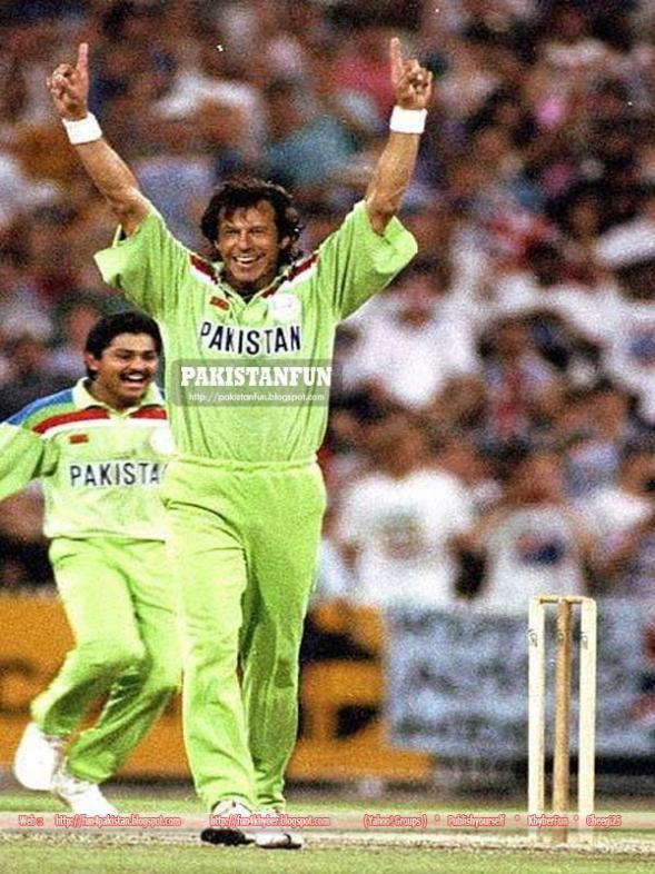 Imran Khan During World Cup