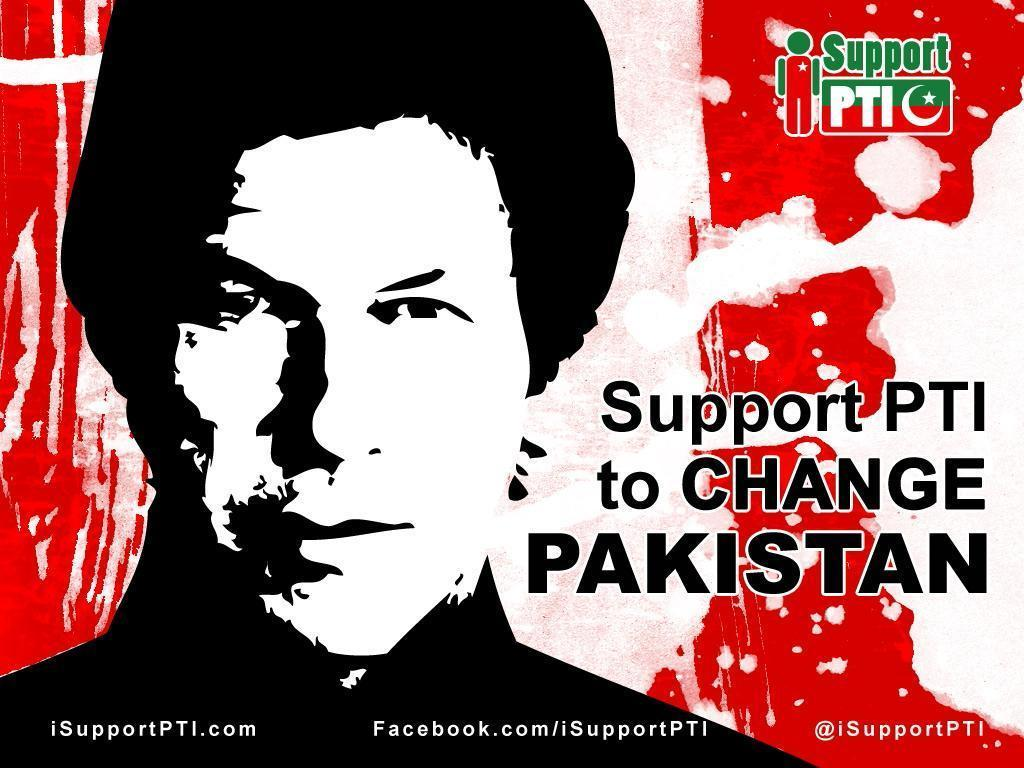 Support PTI to change Pakistan