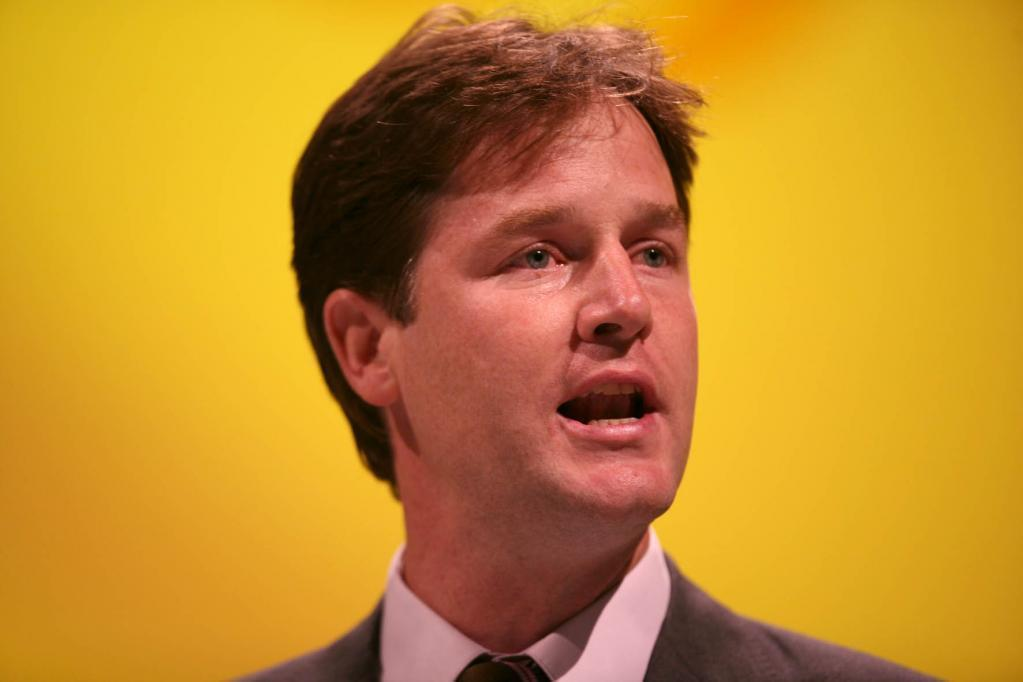 Nick Clegg Latest Wallpaper