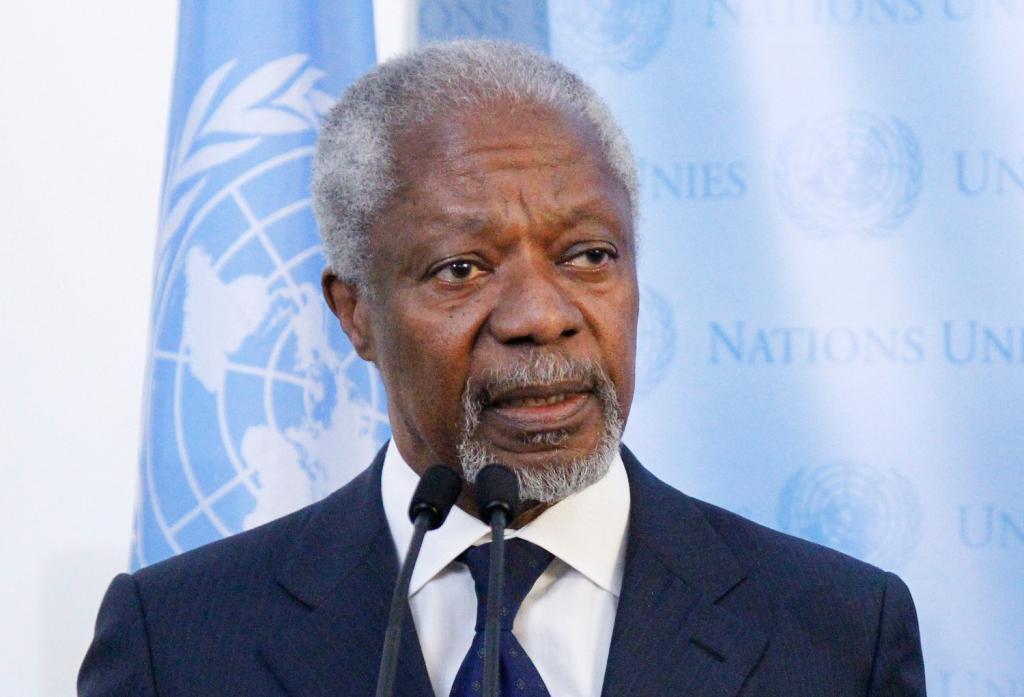Kofi Annan Latest Photo