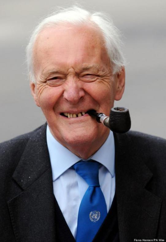 Tony Benn Latest Photo