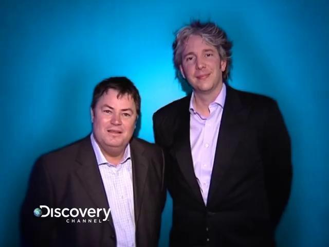 Edd China at Discovery Channel