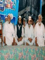 Ch Hamid Hameed is sitting in Mehfil e Naat