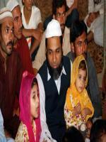 Ch Hamid Hameed with family