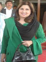 Sumaira Malik with party members