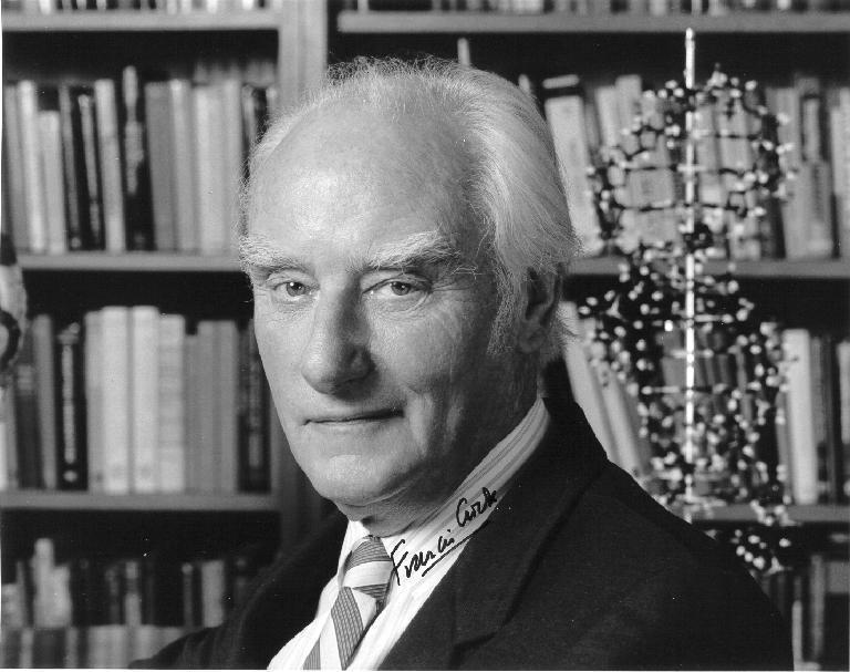 Francis Crick Latest Photo