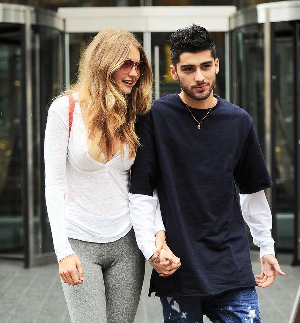 Lovebirds Gigi Hadid and Zayn Malik