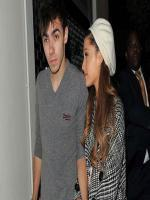 Nathan Sykes with Girl Friend