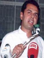 Muhammad Tallal Chaudry in Jaranwala