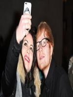 Ed Sheeran with Fan