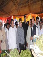 Choudhry Muhammad Shahbaz Babar visit Market