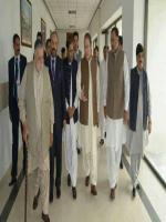 Choudhry Muhammad Shahbaz Babar with Nawaz Sharif