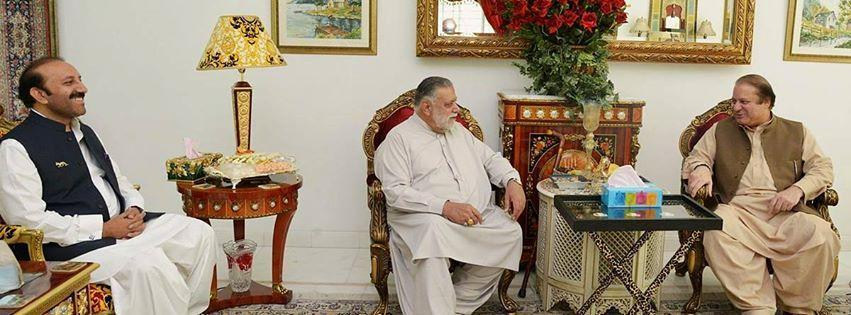 Choudhry Muhammad Shahbaz Babar with Jamali