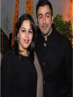 Shaan Shahid with wife