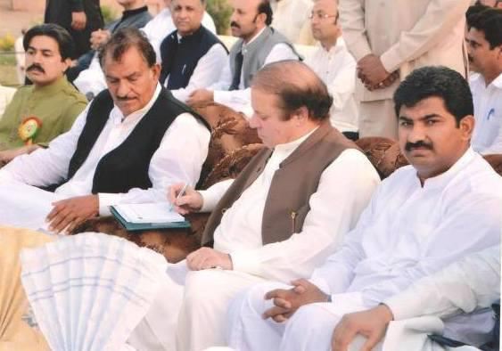 Mian Muhammad Farooq with Nawaz Sharif