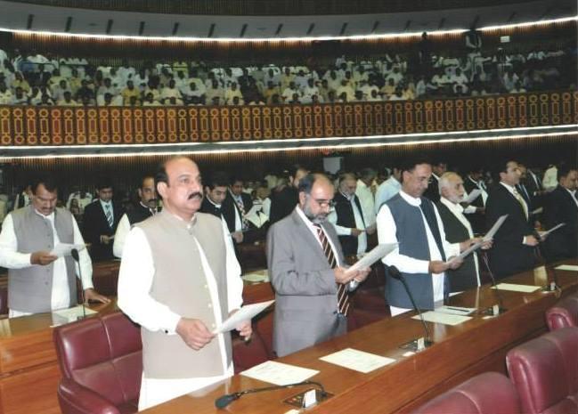 Mian Muhammad Farooq in Assembly