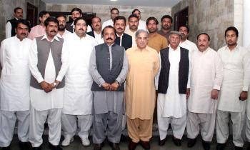 Dr. Nisar Ahmad Jatt With Shahbaz Sharif