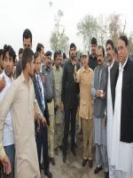 Rana Muhammad Afzal Khan with Shahbaz Sharif