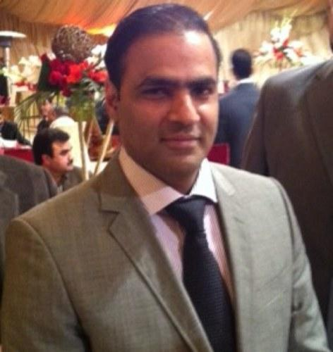 Abid Sher Ali in Party