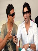 Wasim Akram With Akhshay