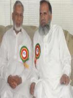 Usman Ibrahim with Malik Afzal