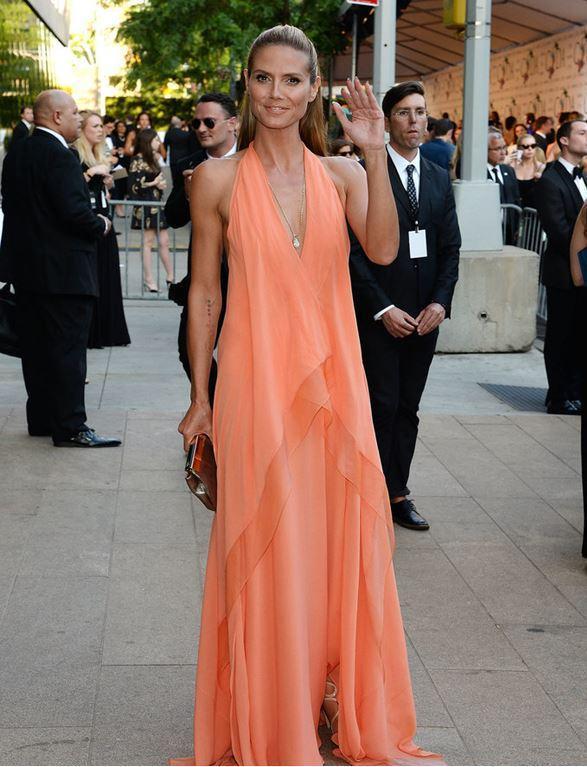 Heidi Klum in CFDA Awards