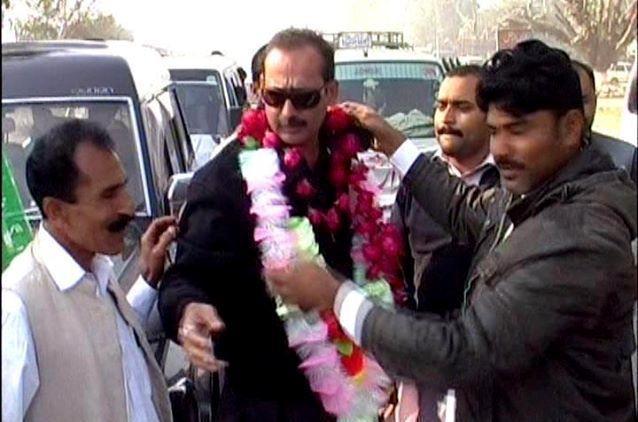 Nasir Iqbal Bosal in Election