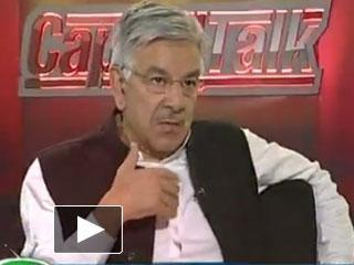 Khawaja Muhammad Asif in Capital Talk