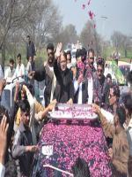 Chaudry Armaghan Subhani Celebrating Victory
