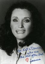 Joanne Carson Net Worth