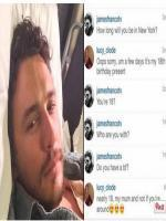 James Franco flirts with 17 year old