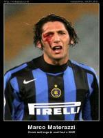Marco Materazzi Injury