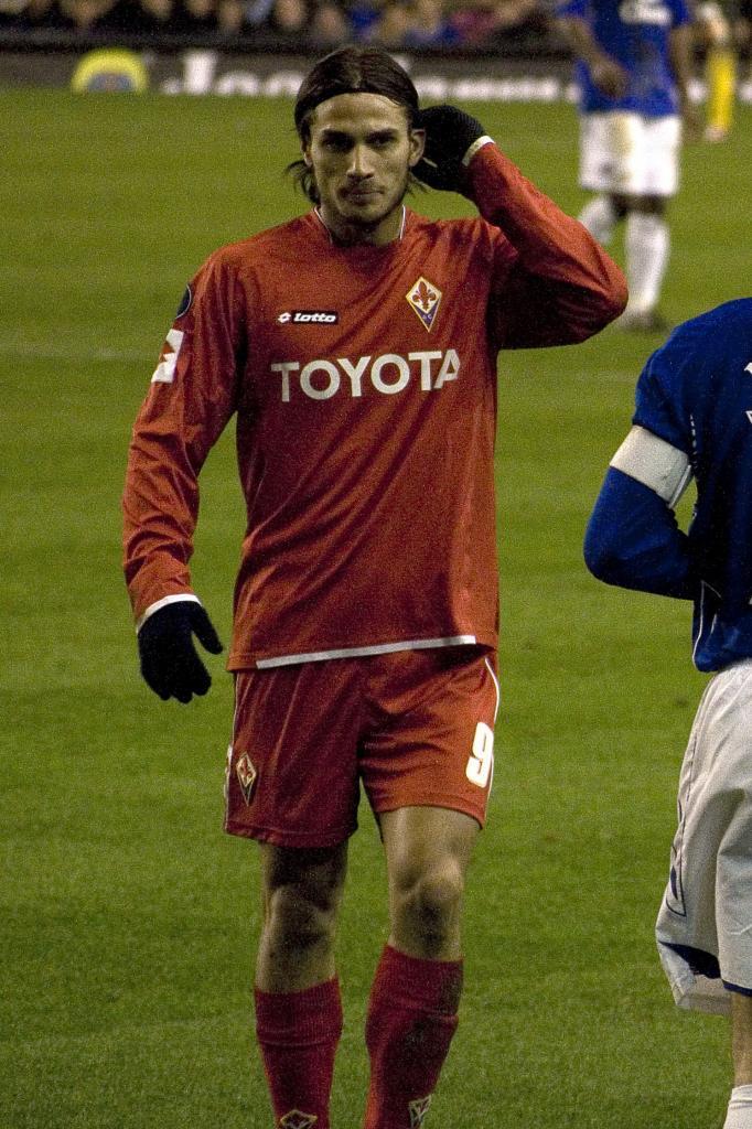 Dani Osvaldo in Match