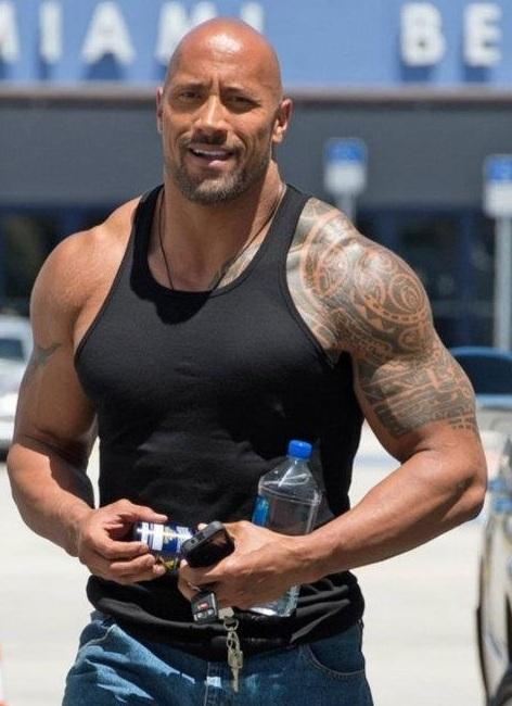 Dwayne Johnson Photo Shot