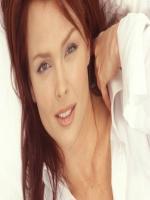 Dina Meyer Modeling Pic