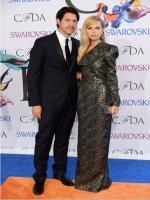Rachel Zoe and her husband, Rodger Berman in CFDA Awards