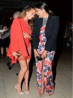Chrissy Teigen and Rachel Roy in CFDA Awards