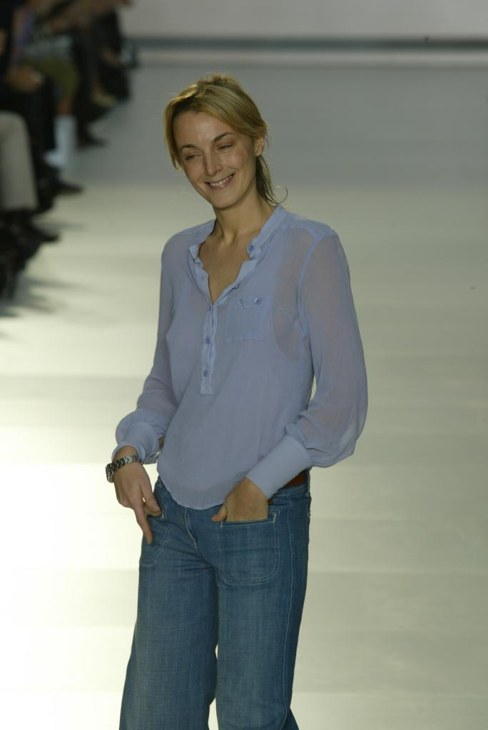 Phoebe Philo Modelling Pic